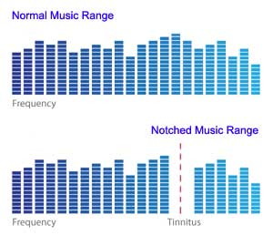 Notched Music Diagram