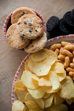 potato chips, cookies and other salt thinkgs