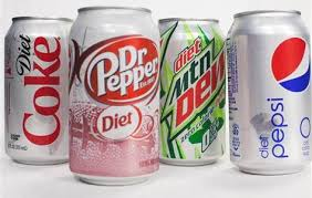 diet soda cans