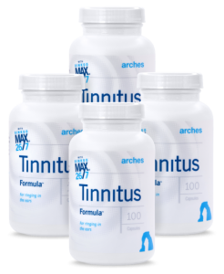 4 bottles of Arches Tinnitus Formula